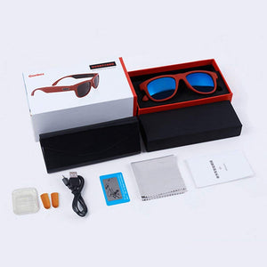 Sun-glasses Bluetooth Sports Headset With Micphone