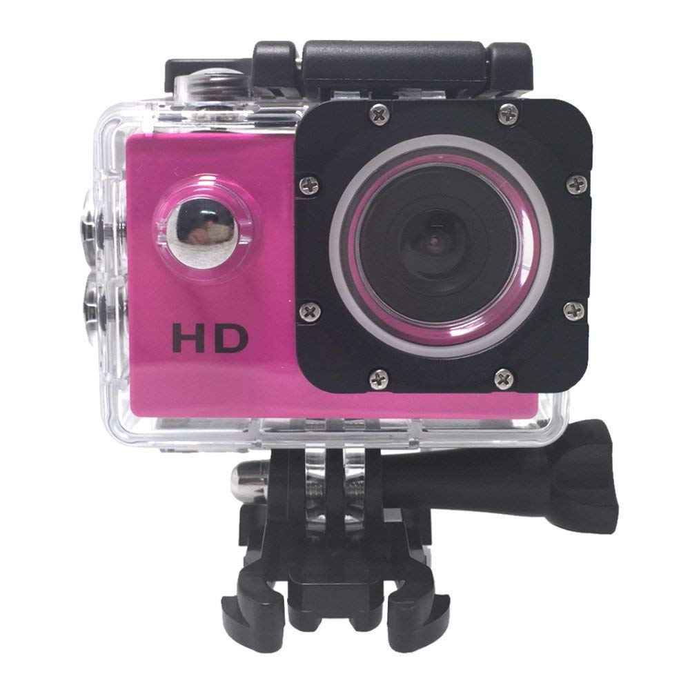 "A7 HD 720P Sport Mini DV Action Camera 2.0"" LCD 90° Wide Angle Lens 30M Waterproof"