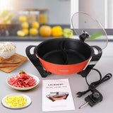 Electric Shabu Shabu Hot Pot Non-stick