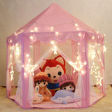 Portable Princess Castle Tent Play House for Kids