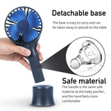 USB Rechargeable Mini Electric Handheld Fan free battery