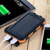 Solar Power Bank (With Led Fashlight)