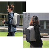 Canvas Anti-Theft Backpack