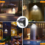 Solar Powered Motion Sensor Led Light