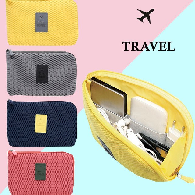 Travel Cosmetic Pouch Bag Organizer