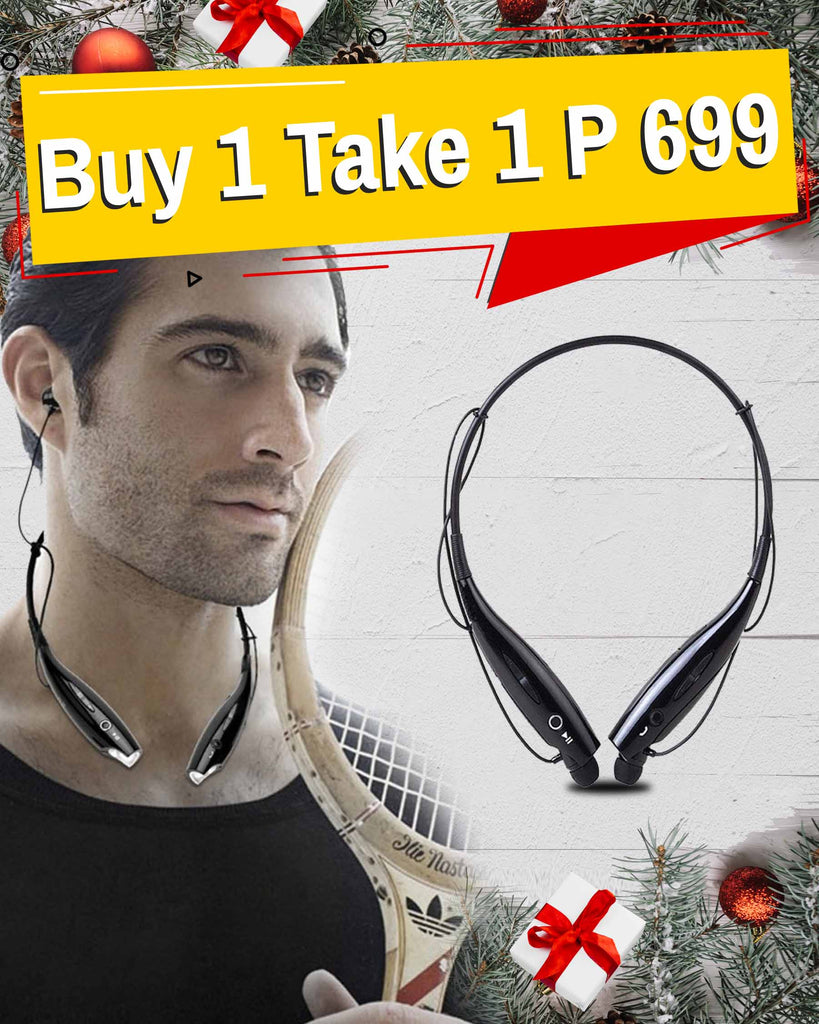 S1M Bluetooth Wireless Stereo Headset BUY 1 GET 1 FREE
