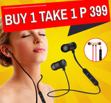 Sport Earphones Metal Magnetic 4.1 Bluetooth Headset