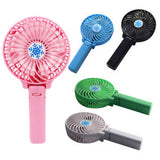 Portable Handheld USB Mini Foldable Fan