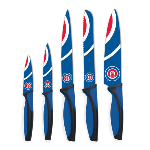 Chicago Cubs Kitchen Knives (set of 5) - The Sports Vault