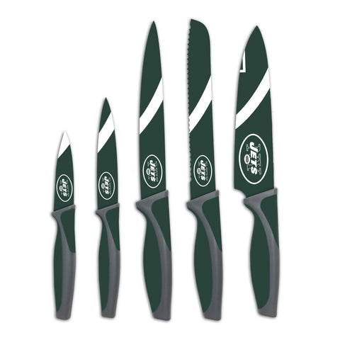 New York Jets Kitchen Knives (set of 5) - The Sports Vault