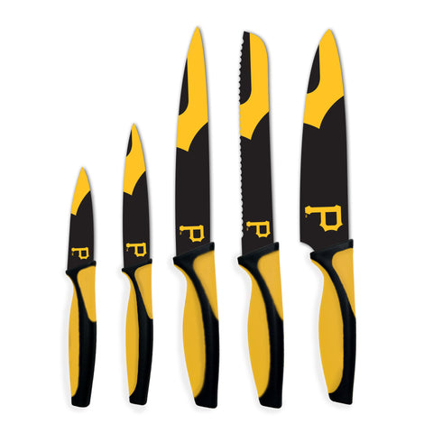 Pittsburgh Pirates Kitchen Knives (set of 5) - The Sports Vault