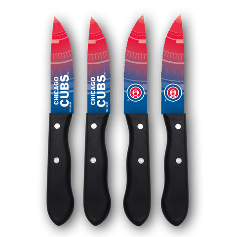 Chicago Cubs Steak Knives (set of 4) - The Sports Vault