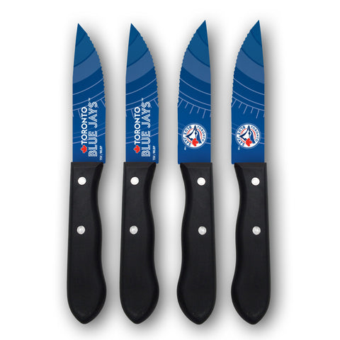 Toronto Blue Jays Steak Knives (set of 4) - The Sports Vault