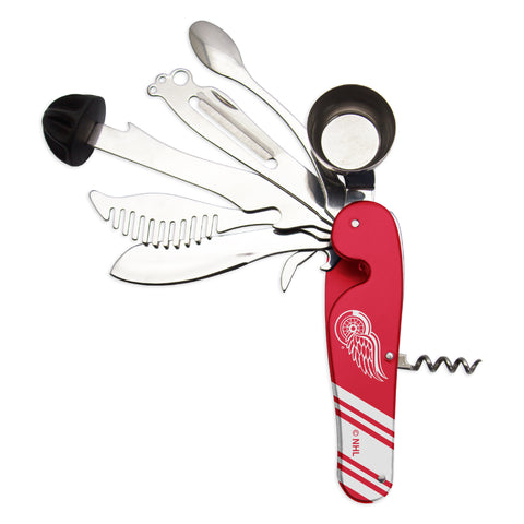 Detroit Red Wings Bartender Multi-Tool