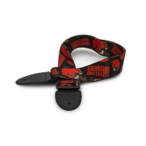 Cleveland Browns Guitar Strap - The Sports Vault