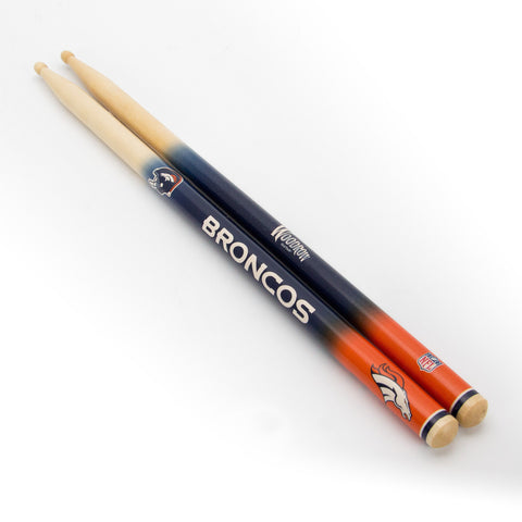 Denver Broncos Drum Sticks - The Sports Vault