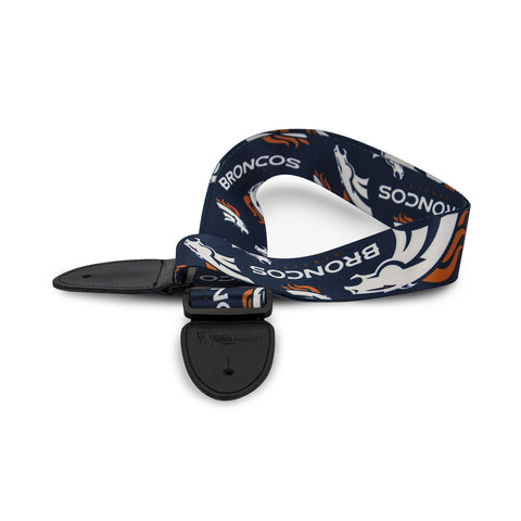 Denver Broncos Guitar Strap - The Sports Vault