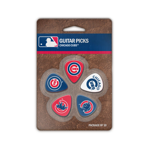 Chicago Cubs Guitar Picks (10 pack) - The Sports Vault