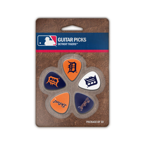 Detroit Tigers Guitar Picks (10 pack) - The Sports Vault