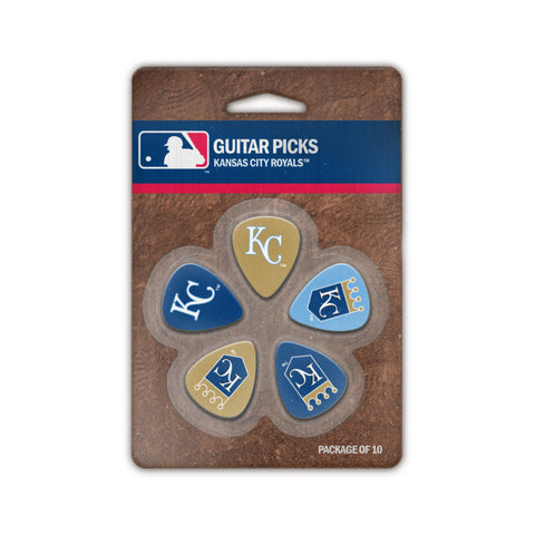 Kansas City Royals Guitar Picks (10 pack) - The Sports Vault