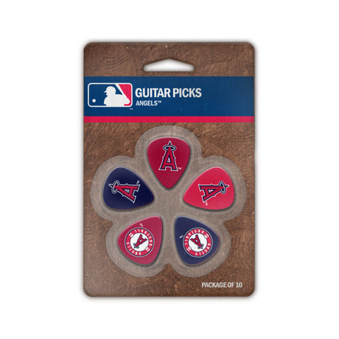 Los Angeles Angels Guitar Picks (10 pack) - The Sports Vault