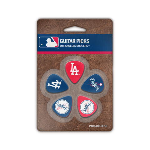 Los Angeles Dodgers Guitar Picks (10 pack) - The Sports Vault