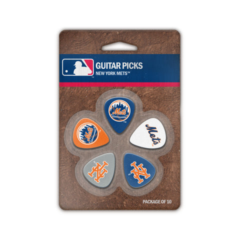New York Mets Guitar Picks (10 pack) - The Sports Vault