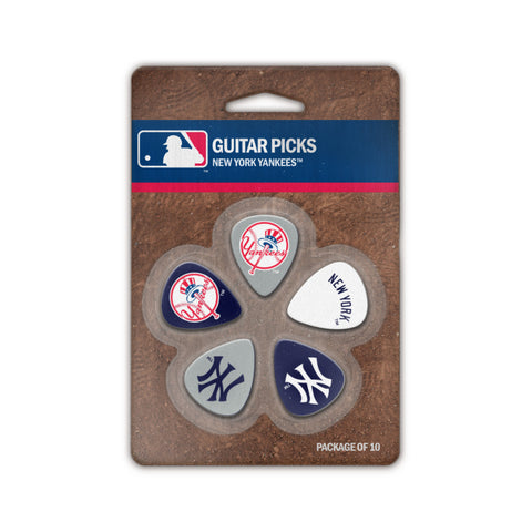 New York Yankees Guitar Picks (10 pack) - The Sports Vault