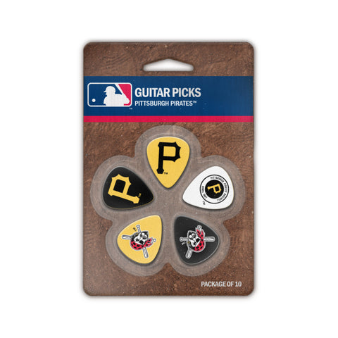 Pittsburgh Pirates Guitar Picks (10 pack) - The Sports Vault
