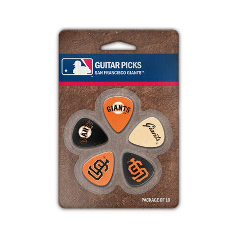 San Francisco Giants Guitar Picks (10 pack) - The Sports Vault