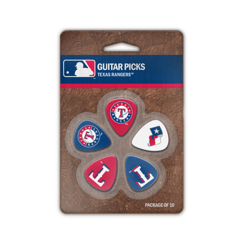 Texas Rangers Guitar Picks (10 pack) - The Sports Vault
