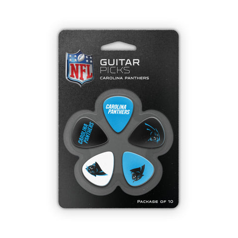 Carolina Panthers Guitar Picks (10 pack) - The Sports Vault
