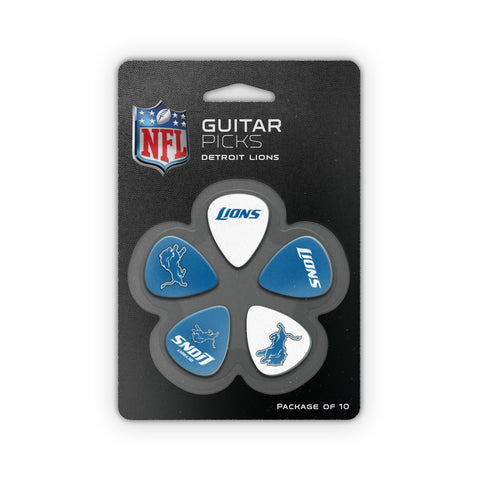 Detroit Lions Guitar Picks (10 pack) - The Sports Vault