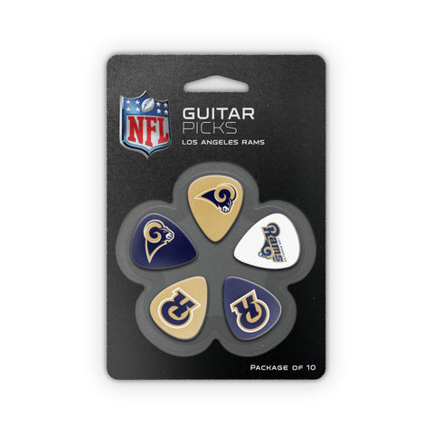 LA Rams Guitar Picks (10 pack) - The Sports Vault