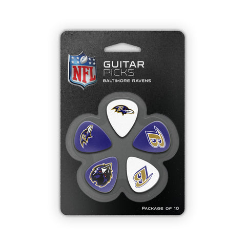 Baltimore Ravens Guitar Picks (10 pack)