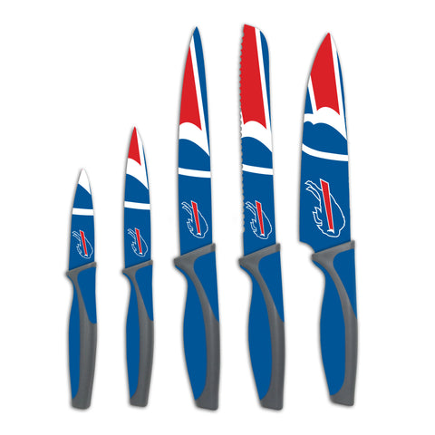 Buffalo Bills Kitchen Knives (set of 5)