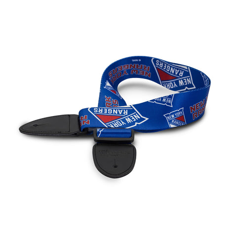New York Rangers Guitar Strap - The Sports Vault