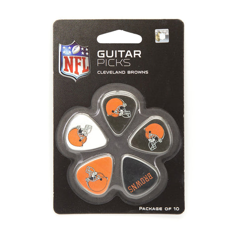 Cleveland Browns Guitar Picks (10 pack) - The Sports Vault