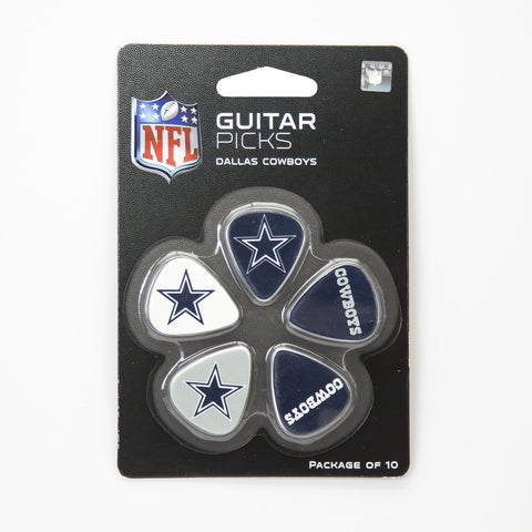 Dallas Cowboys Guitar Picks (10 pack) - The Sports Vault