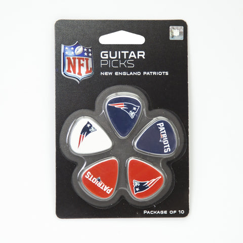 New England Patriots Guitar Picks (10 pack) - The Sports Vault