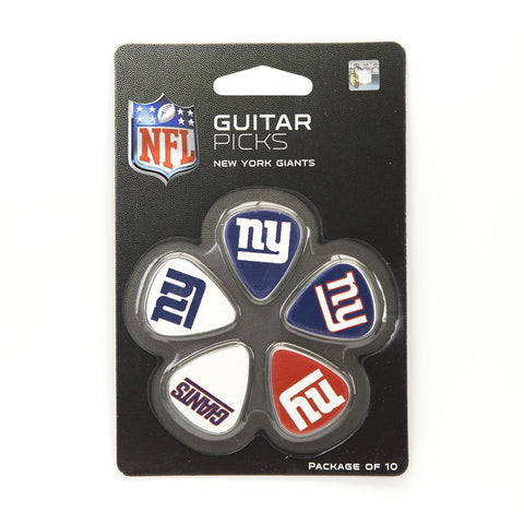 New York Giants Guitar Picks (10 pack) - The Sports Vault