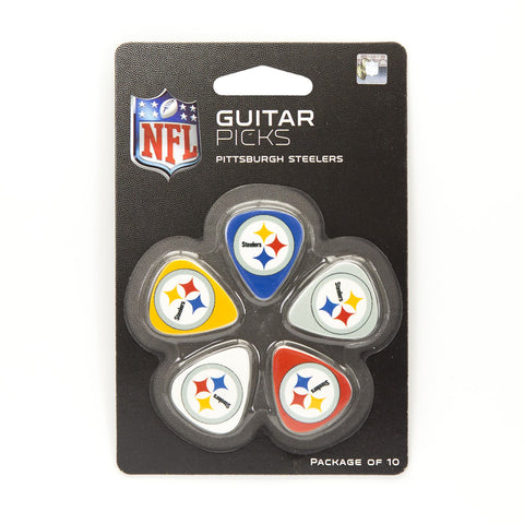 Pittsburgh Steelers Guitar Picks (10 pack) - The Sports Vault