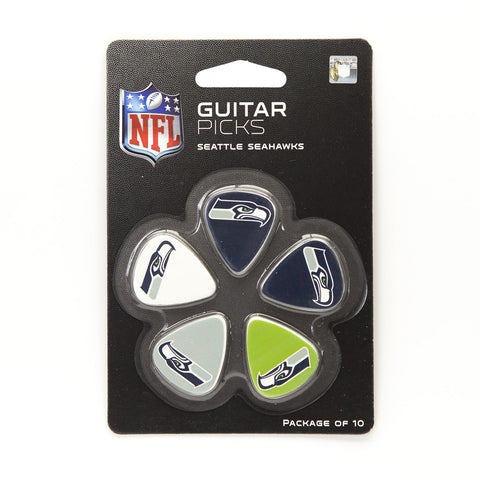 Seattle Seahawks Guitar Picks (10 pack) - The Sports Vault