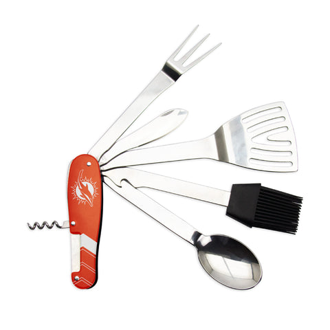 Miami Dolphins Barbecue Multi-Tool