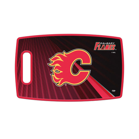 Calgary Flames Cutting Board
