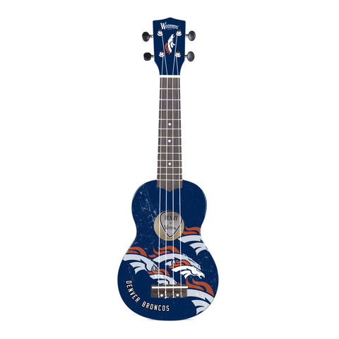 Denver Broncos Denny Ukulele - The Sports Vault