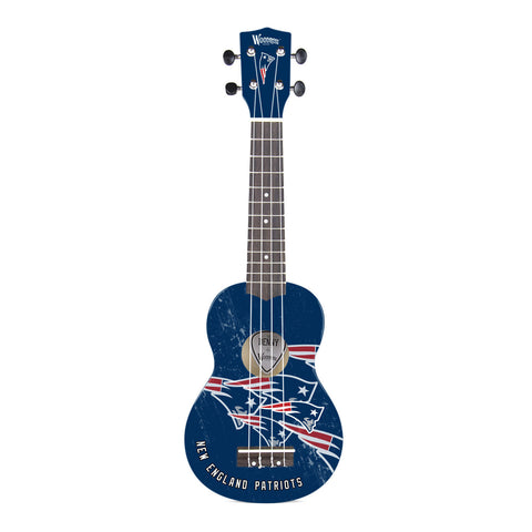 New England Patriots Denny Ukulele - The Sports Vault