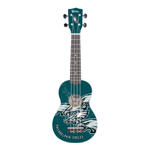 Philadelphia Eagles Denny Ukulele - The Sports Vault