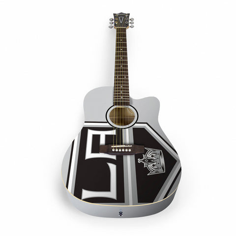 Los Angeles Kings Acoustic Guitar