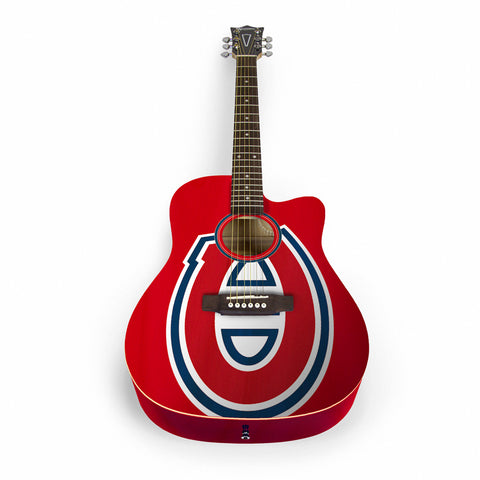 Montreal Canadiens Acoustic Guitar
